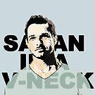 Satan in a V-Neck by jadetiger712