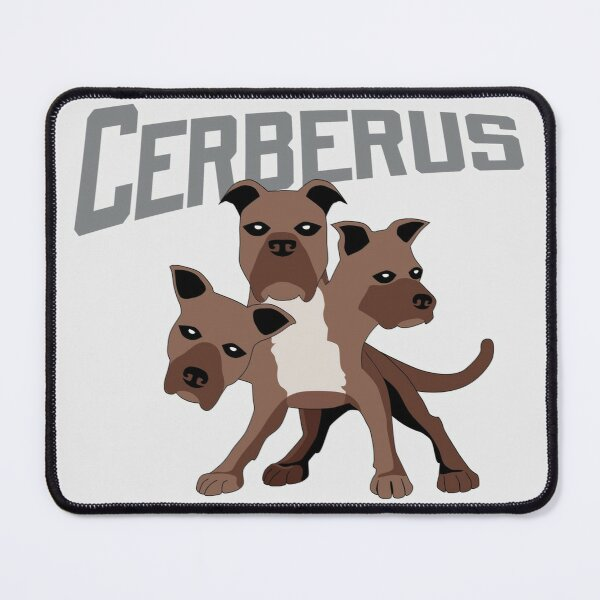 Cerberus with Title Mouse Pad