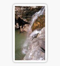Bork's Cave Waterfall Sticker