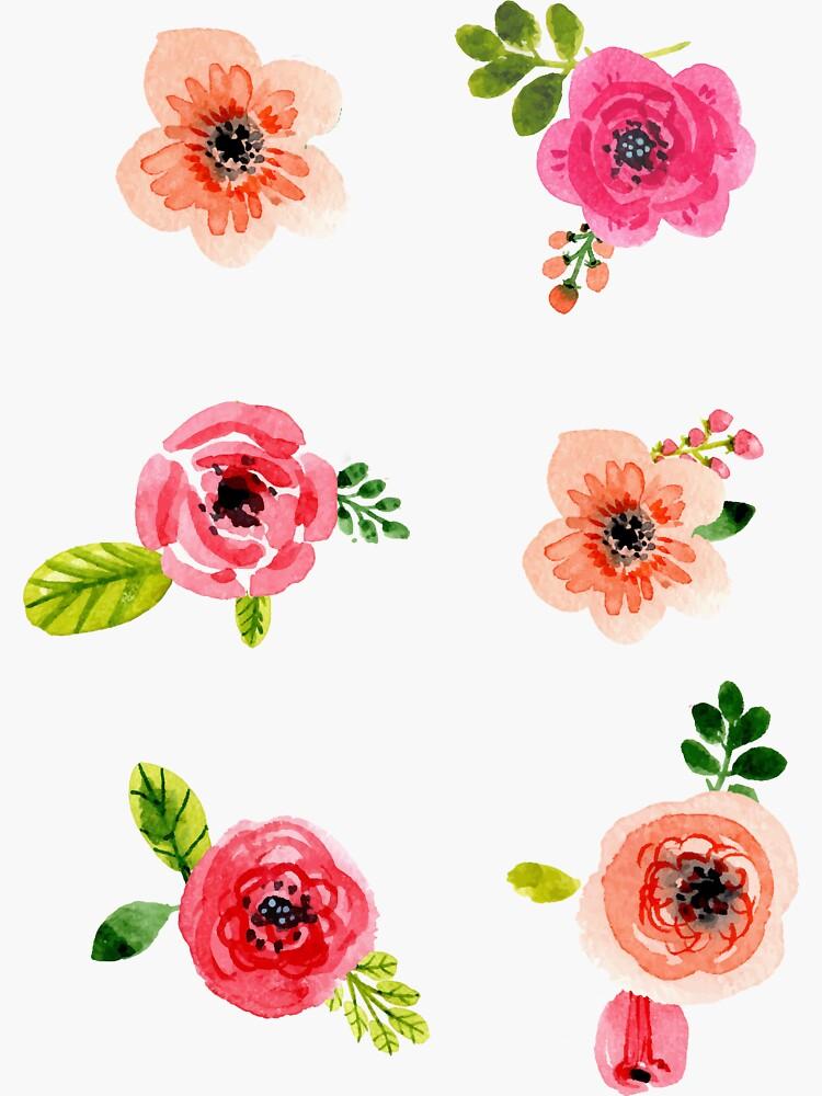 Kleine Blumen von clairechesnut