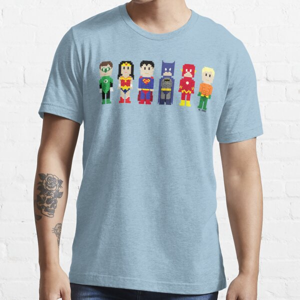 8-Bit Super Heroes 3: The Other Guys Essential T-Shirt