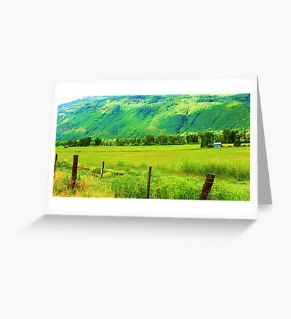 Color Me Green Greeting Card