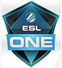 ESL ONE Poster
