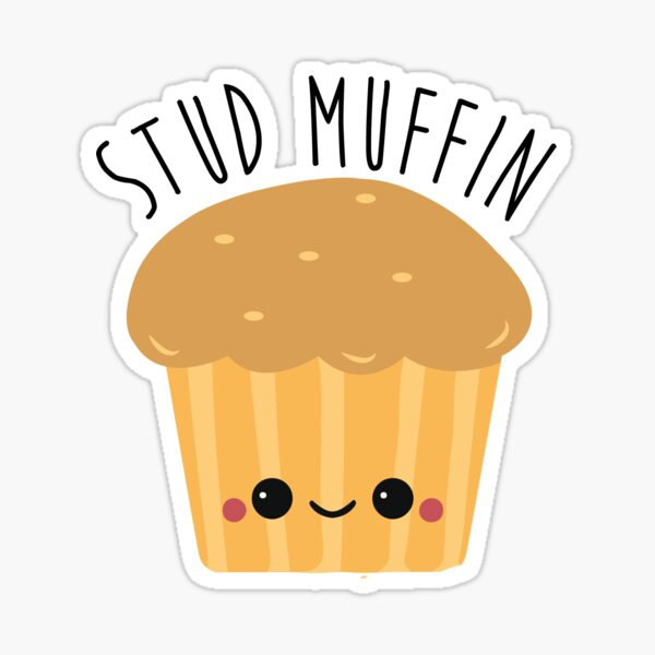Stud Muffin - Kawaii Sticker