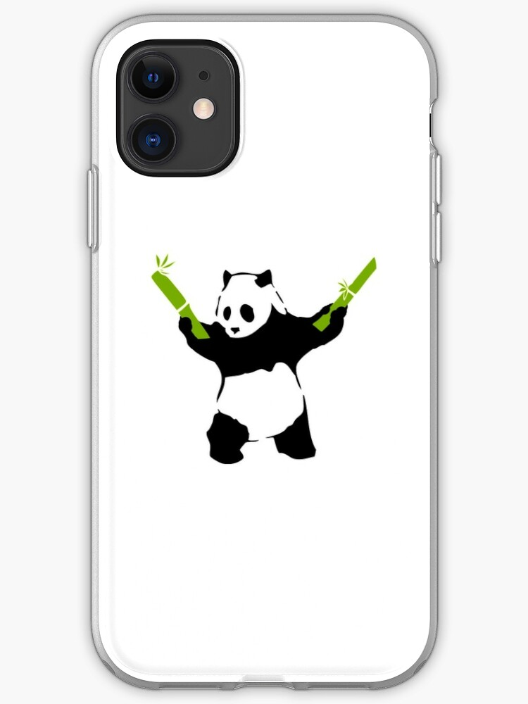 Bad Panda Bambou Pochoir | Coque iPhone
