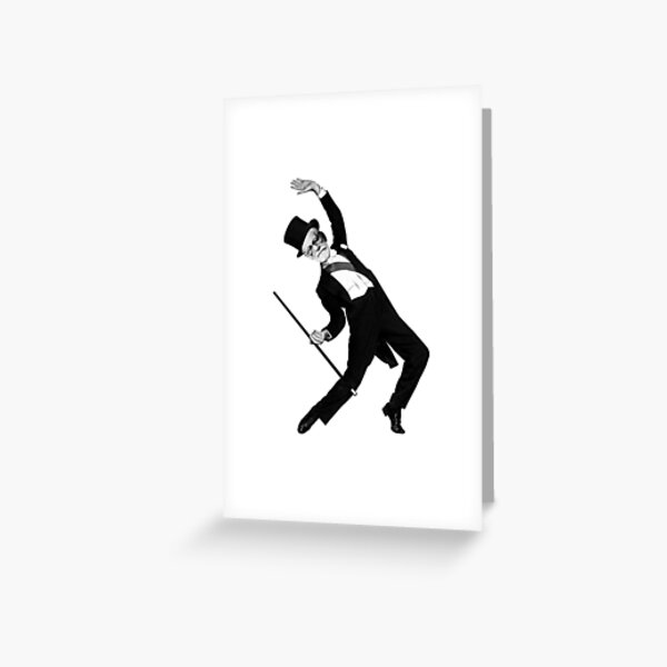 Freud Astaire Greeting Card