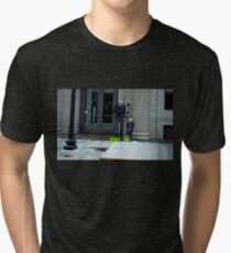 """""""Doing It Just Like Dad""""... prints and products Tri-blend T-Shirt"""