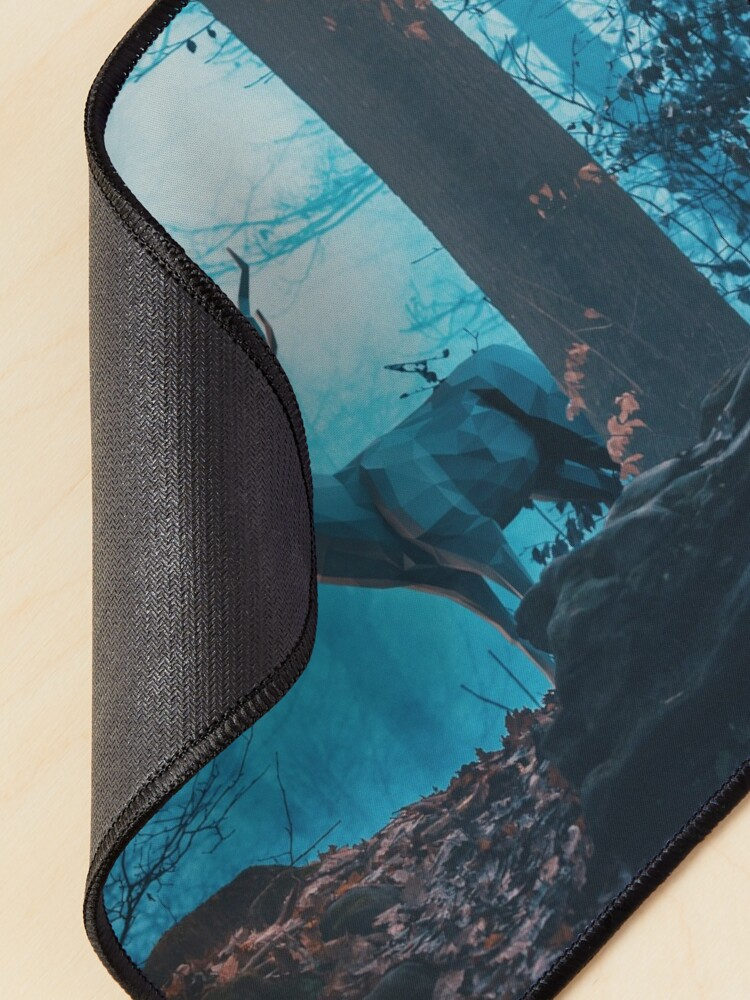 Alternate view of Blue Forest Mouse Pad