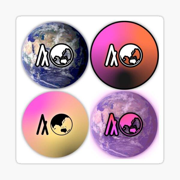 AlgoWorld (Official Logos Collection)  Sticker