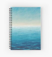 Shimmering heat  Spiral Notebook