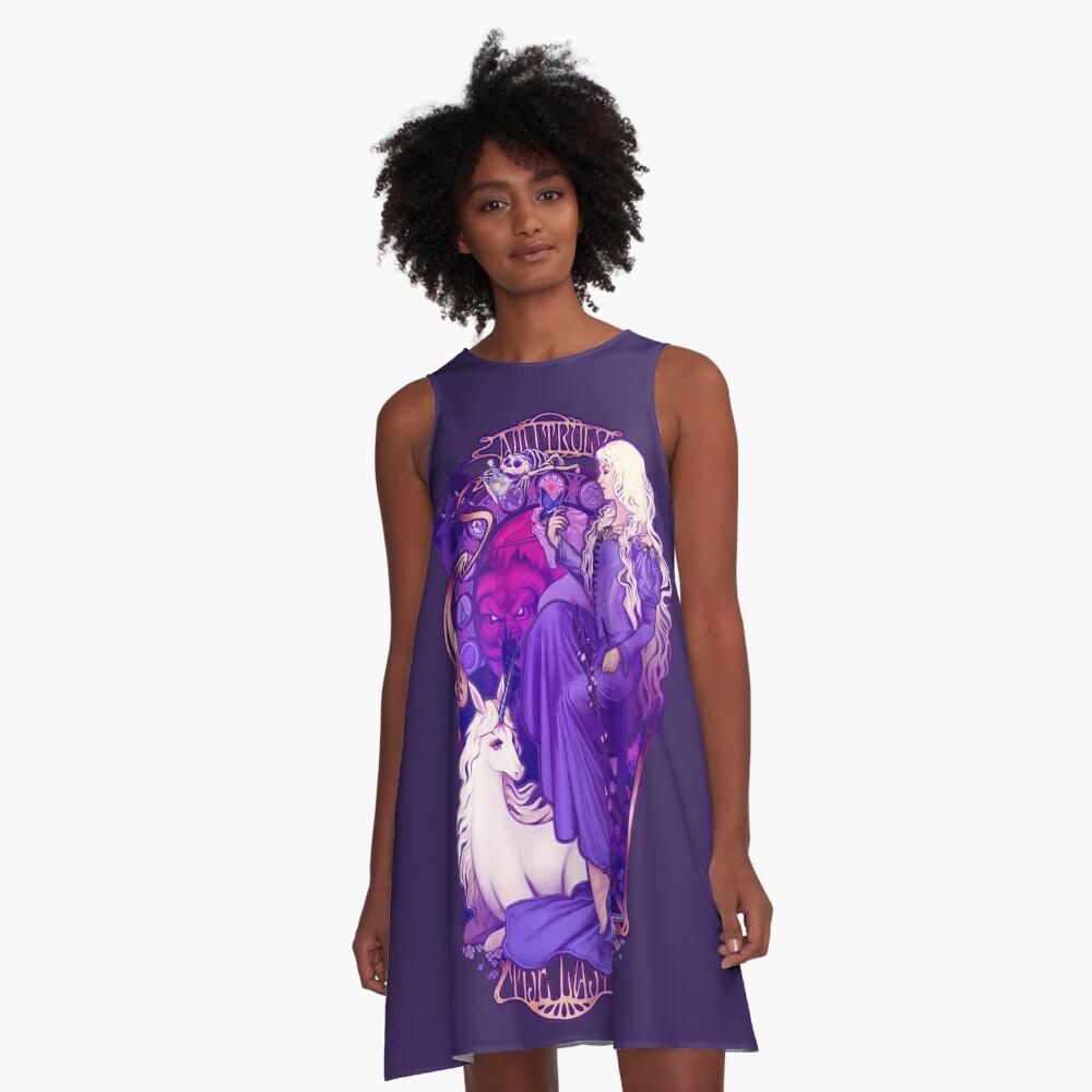 Am I Truly the Last A-Line Dress