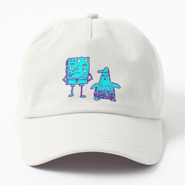 Borb Absorb Purple and Blue Dad Hat