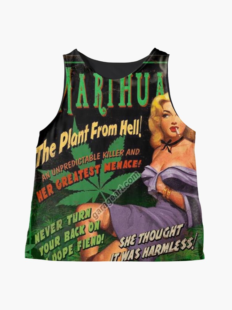 Alternate view of Plant From Hell! Sleeveless Top