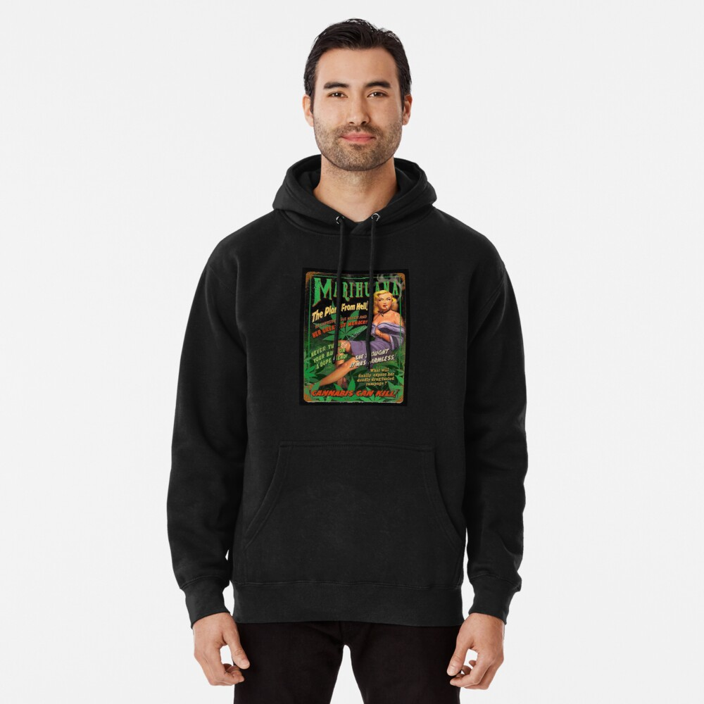 Plant From Hell! Pullover Hoodie