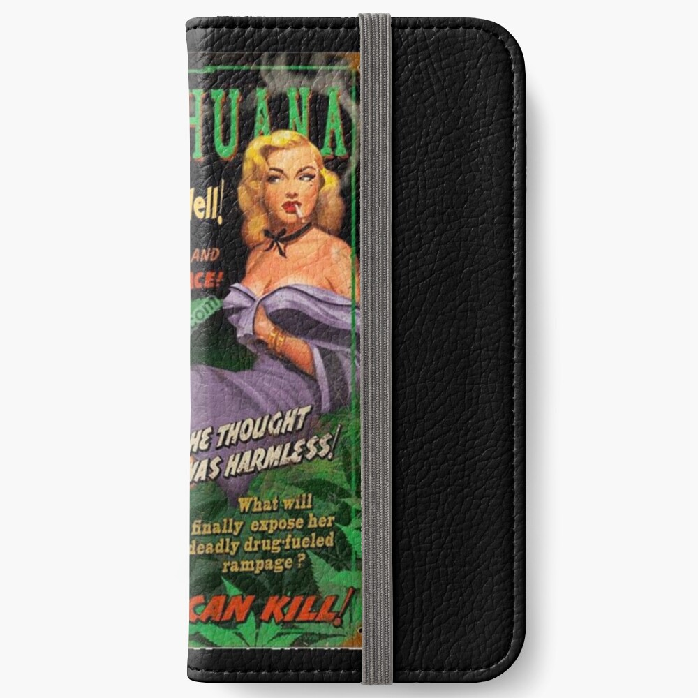 Plant From Hell! iPhone Wallet
