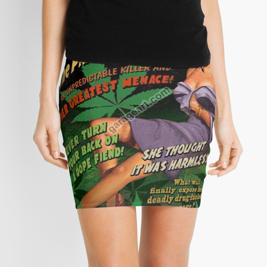 Plant From Hell! Mini Skirt