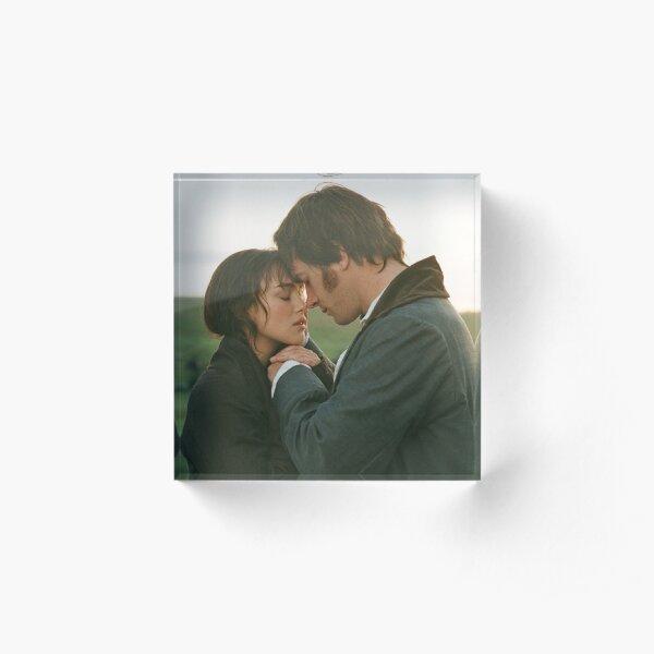 Mr Darcy and Elizabeth Bennet Pride & Prejudice Acrylic Block