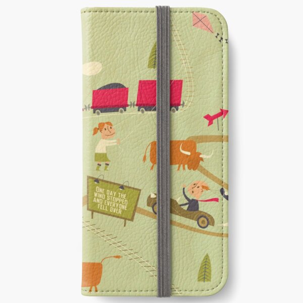 The Windy 'Hood iPhone Wallet
