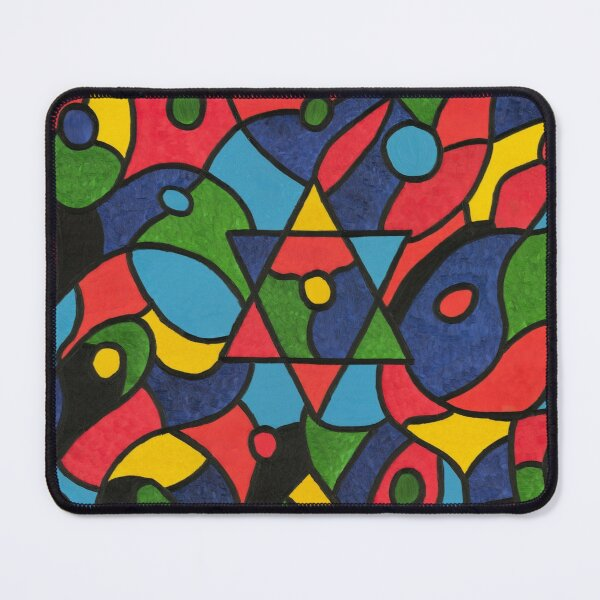 """""""Twelve Tribes of Israel"""" Mouse Pad"""