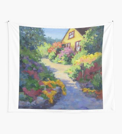 Garden Path Wall Tapestry