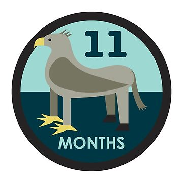 Baby Growth - Hippogriff (Eleven Months) by babybigfoot