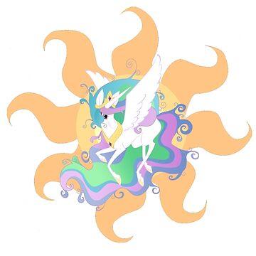Celestia princess of the sun by DiamondCrusade