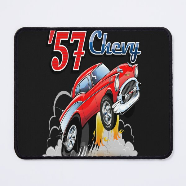 Classic Rods And Rides   57 Chevy Design is perfect for  your friends  who also love Classic Cars and just having a good time. The design is also fitting in time for a birthday. Great Dad T Shirt Mouse Pad
