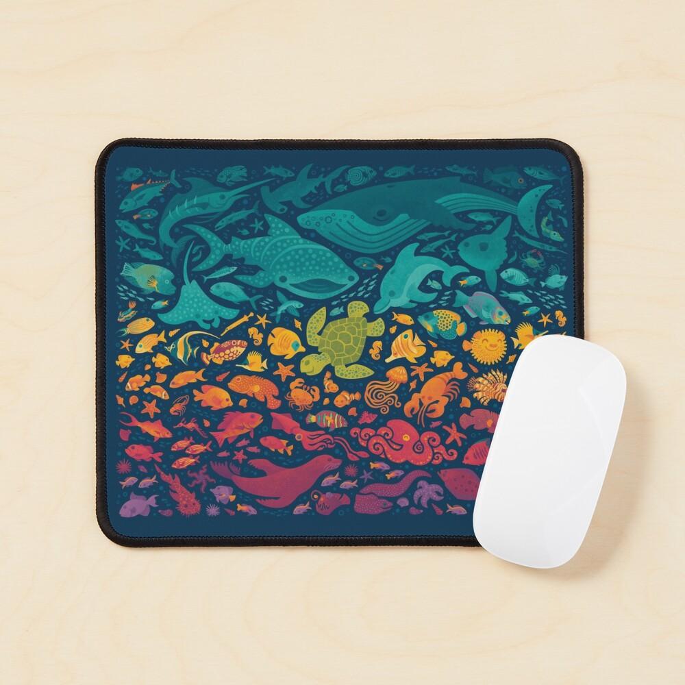 Aquatic Spectrum 2 Mouse Pad
