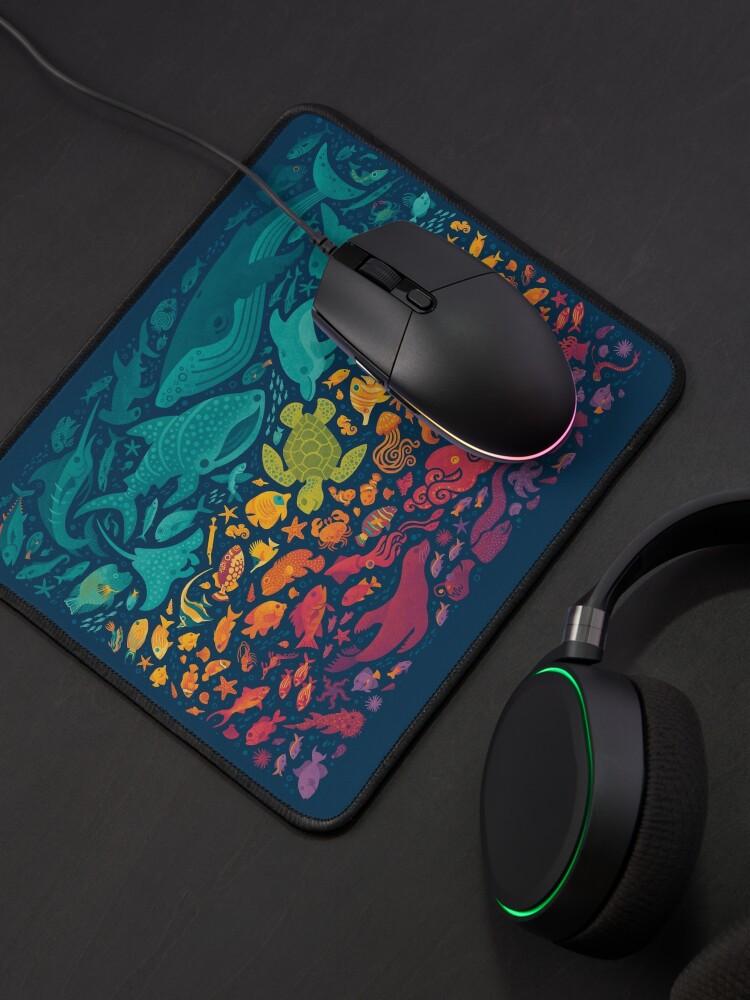 Alternate view of Aquatic Spectrum 2 Mouse Pad