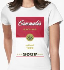 Cannabis Sativa Soup Women's Fitted T-Shirt