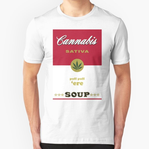 Cannabis Sativa Soup Slim Fit T-Shirt
