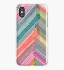 Pivot in Warm Prism iPhone Case
