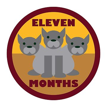 Baby Growth - Cerberus (Eleven Months) by babybigfoot