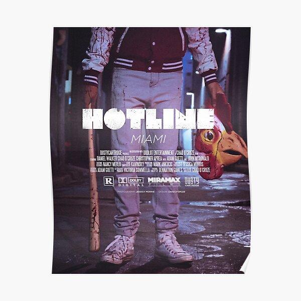 Hotline Miami: le film Poster
