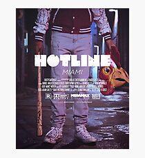 Lámina fotográfica Hotline Miami: la película
