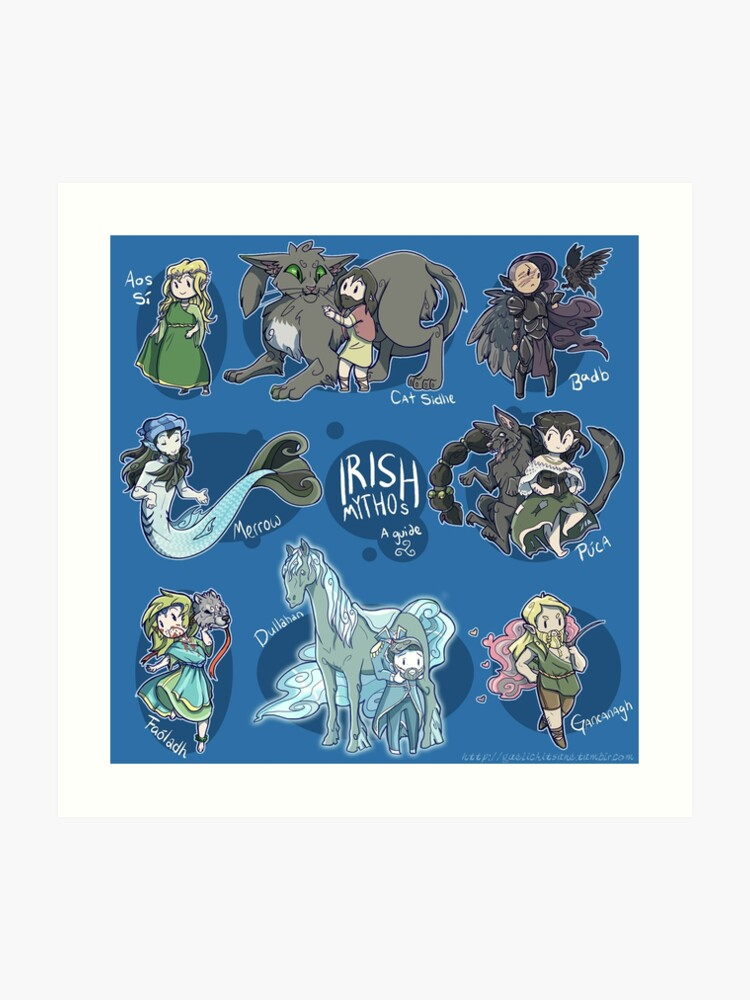 Irish Mythos   Art Print
