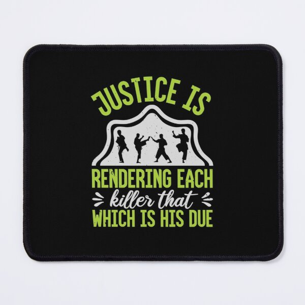 Justice is rendering Mouse Pad