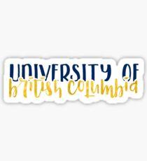UBC - Style 1 Sticker