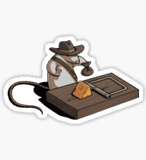 Indiana Mouse Sticker