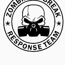 Zombie Outbreak Response Team gas mask by thatstickerguy