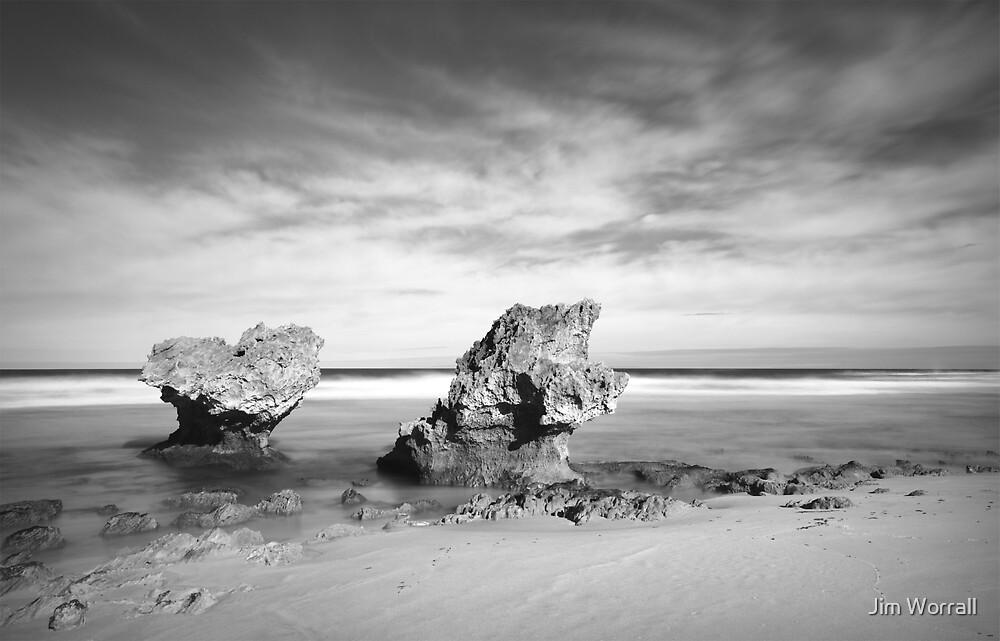 Montforts Beach - Blairgowrie by Jim Worrall