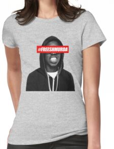 SHMURDA Womens Fitted T-Shirt