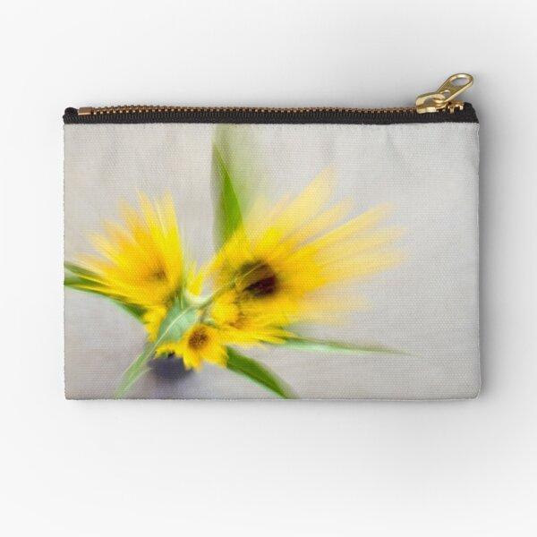Sunflower Spray Zipper Pouch