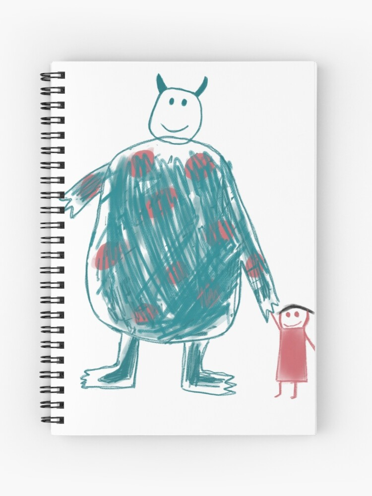 Boo S Drawing Spiral Notebook By Kdog1225 Redbubble