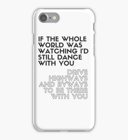 Niall Horan - This Town  iPhone Case/Skin