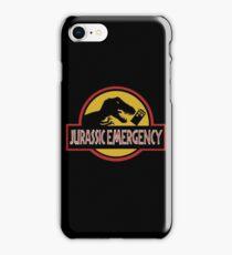 Jurassic Emergency iPhone Case/Skin