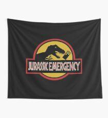 Jurassic Emergency Wall Tapestry