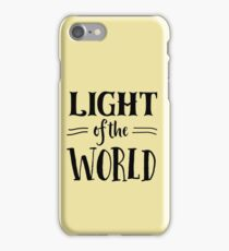 Light of the World iPhone Case/Skin
