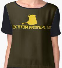Exterminate! Women's Chiffon Top