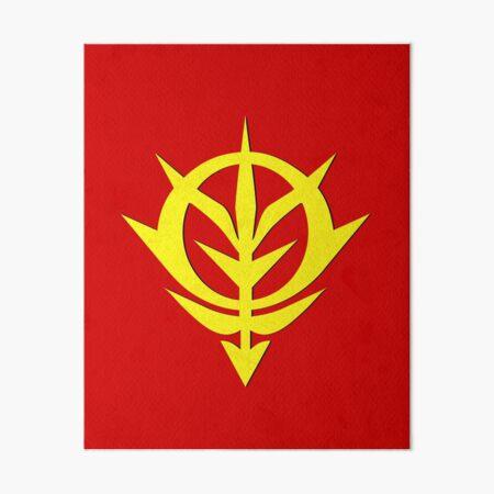Gundam zeon Art Board Print